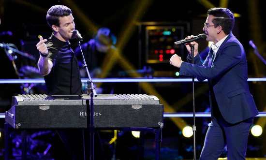 Michael Sanchez, Dave Moisan lead the way on iTunes for The Voice