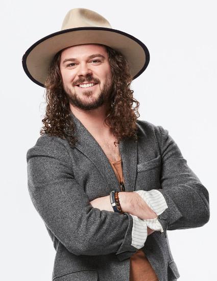 Drew Cole of The Voice Season 14. (NBC Photo)